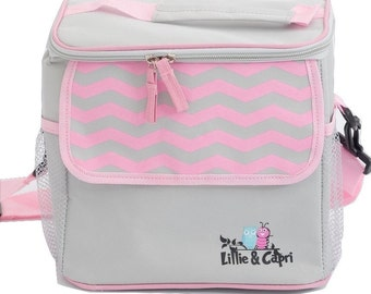 Insulated Cooler Bag - Pink
