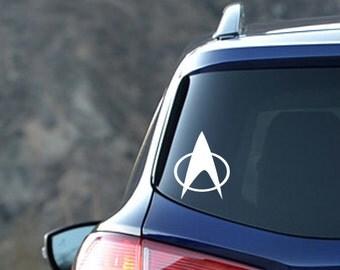 Star Trek TNG Inspired Original Insignia Vinyl Decal Next Generation Picard Riker Data Troi Crusher Worf LaForge