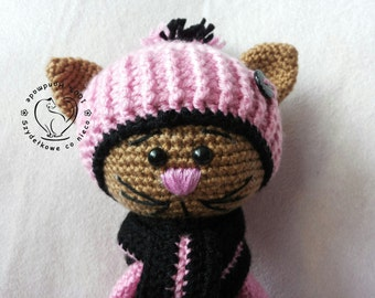 Mike The Cat amigurumi toy
