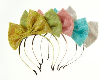 Lace Pop Up Bow