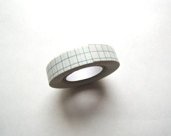 Green Grid Washi Tape.