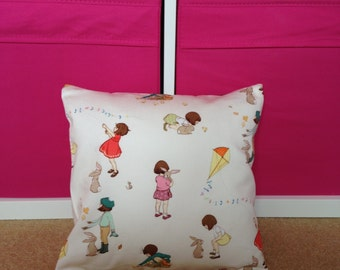 Pair of Belle & Boo cushion covers - 30x30cm each includes insert