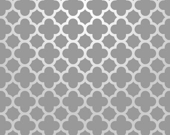Reusable Wall Stencil Moroccan Allover Pattern.  Available In 10 or 14 Mil Mylar at no extra charge.  SKU: S0015