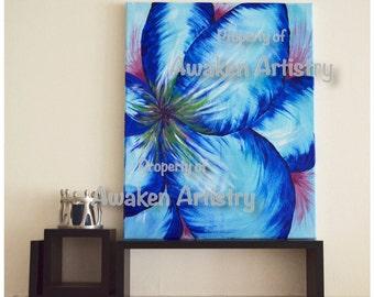 Big Blue 20x16in PRINT of original work