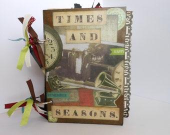 Junk Journal, Vintage Style Junk Journal, Mini Album, Scrapbook