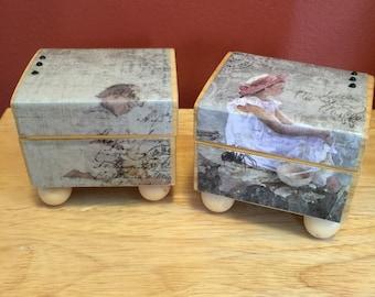 Mini Adorable wood box