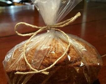 Homemade mini loaves of Banana bread, zucchini bread or pumpkin bread
