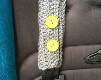 SALE FREE SHIPPING! Toddler Crochet car seat/ seat belt strap covers