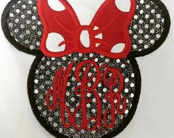Infant Minnie Mouse Applique Shirt