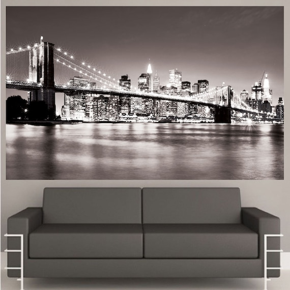 new york decal mural new york wallpaper decal nyc cityscape