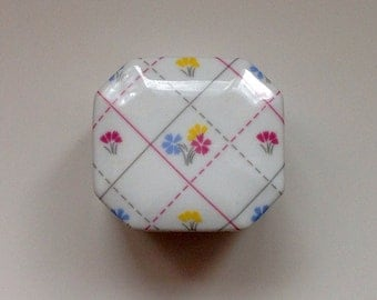 Japanese  Patchwork Trinket Box