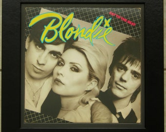 Framed Record Of Blondie Eat To The Beat