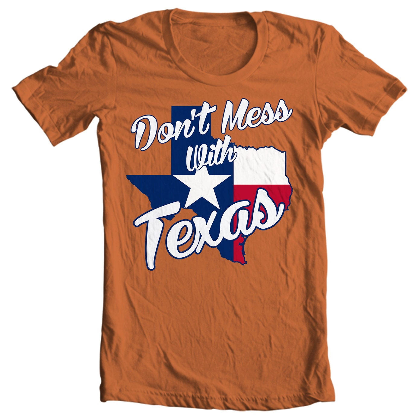 Texas T-shirt - Don't Mess With Texas - My State Texas T-shirt