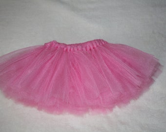 Pink Tutu, 1st Birthday Tutu, Birthday Tutu, Bubblegum Pink, Available in Infant and Toddler