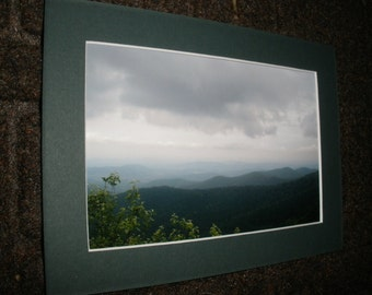 Clouds Over Mountains, Photograph-unframed color print, 3 sizes, Skyline Drive,See the mountains, beauty even in the clouds. MyEyeImagery 4U