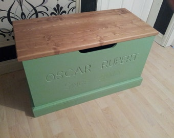 Handmade Toy Boxes