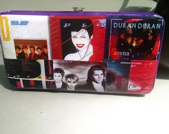 Duran Duran Album / C.D. cover images clutch wallet