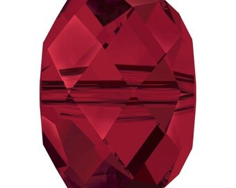 Swarovski Crystal Briolette Beads 5040 - 6mm 8mm - Siam