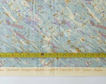 Scandinavian Upholstery Cotton Fabric, Danish Designer Interior Fabric, 100 Cotton Fabric, Fabric by the Yard