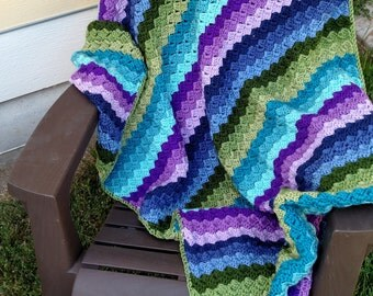 By KnottedwLove Designs , blanket,afghan, handmade blanket, handmade afghan, crochet blanket,