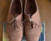Some Cute Suede Oxfords