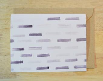Blank Notecard Eight (8) Pack