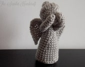 Dr Who Weeping Angel Crochet Amigurumi. Handmade Soft Toy. Crochet Plushie. Made to Order.