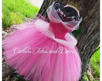 Pink Princess tutu, pink princess dress, princess tutu dress, pink tutu dress, flower girl tutu dress, pink dress, princess tutu