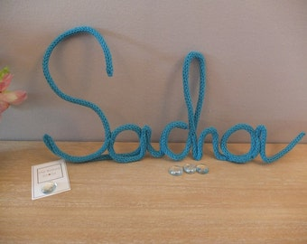 "Wool knitting ""Sacha"""