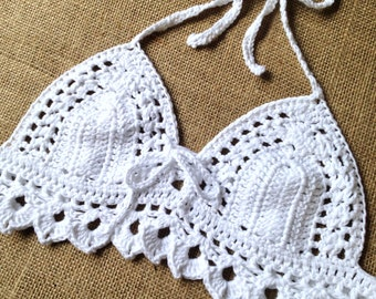 White Gypsy Belle Kini Top
