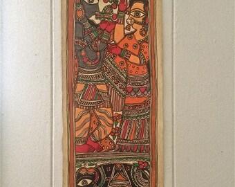 Durga Folk Painting