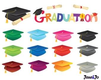 Clipart Sale off Graduation clip art,Graduation cap,Diploma clipart ,Mortarboard clipart,Diploma for graduation,clipart school illustrations