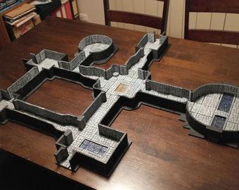 Modular Dungeon Terrain Set - Dungeons and Dragons, etc.