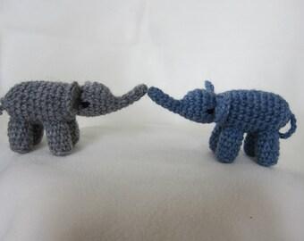 Any 2 Elephant Amigurumis
