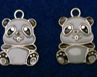 Panda Pendants (2)