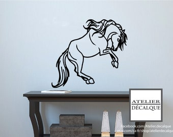 Wall Sticker no. E-010 - horse  - Child Decal