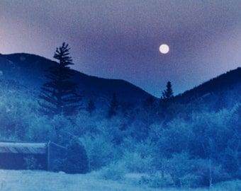 Photograph 5x7 matted, 8x10 matted  Moonlight