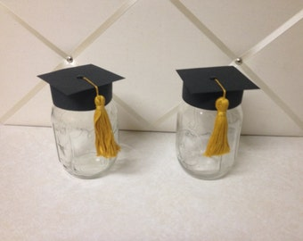 Class Of, Mason Jar, Gift for Graduate, Student, Collegiate, High School,Graduation Decor