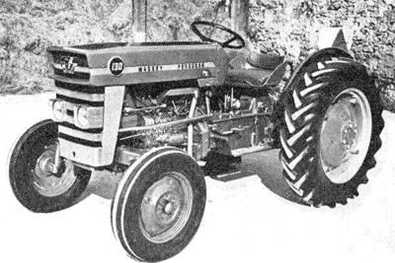 Massey Ferguson Mf 130 Tractor Service  U0026 Operations Manuals