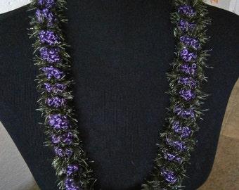 Lei: Purple Elegance