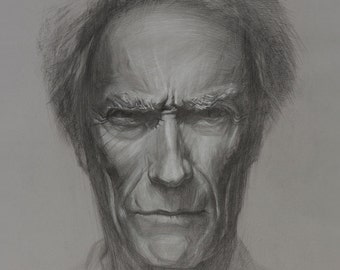 Clint. Original Drawing. 50 cm x 60 cm