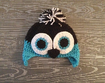Penguin Hat with PomPom