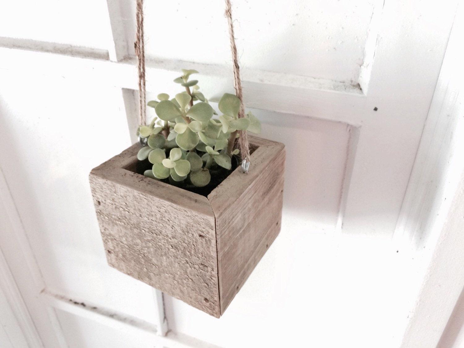 excellent hanging wood planter box wall