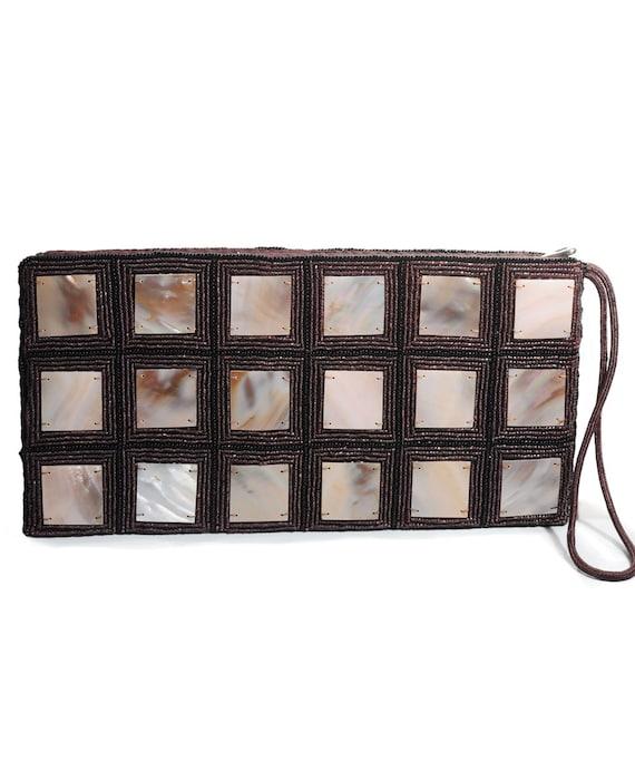 Natural Shell Clutch Bag
