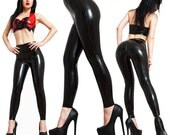 Latex Leggings, Made to Measure, With or Without Crotch Zipper