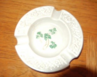 IRELAND BELLEEK ASHTRAY