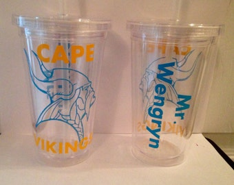 Personalized School Mascot Tumbler