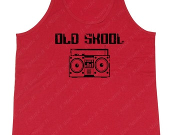 Old School Boombox - Men's Tank Top