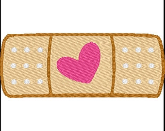 Doc McStuffins Band Aid Embroidery Design 2 sizes