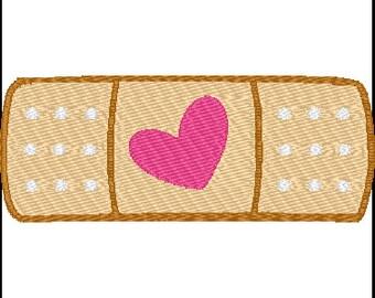 Doc McStuffins Band Aid Embroidery Design